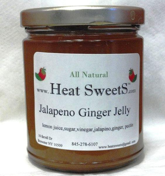 4oz jar of Jalepeno Ginger Jelly