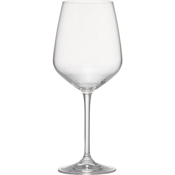 Nattie 18 oz. Everyday Glass in Wine Glasses | Crate and Barrel