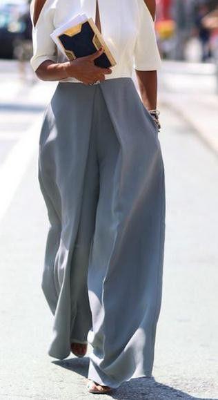 Wide Leg Loose Casual Street High Waist Pants