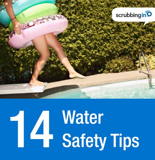 Great summer-safety resource for water activities and boating from the CDC. #watersafety | http://Scrubbing.in