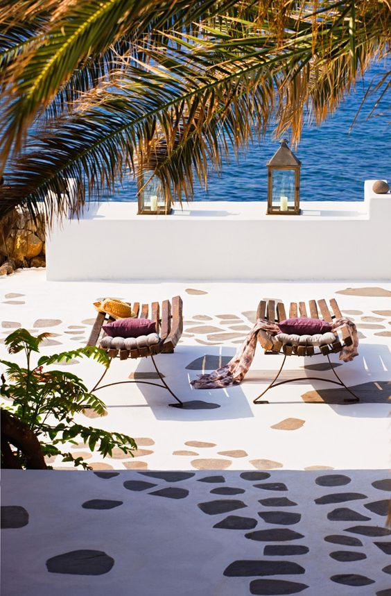 Lounging in Sicily, Italy