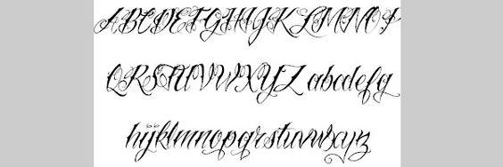 cool tattoo font 25 Cool Tattoo Fonts | ~ TATTOOS & PIERCINGS ...