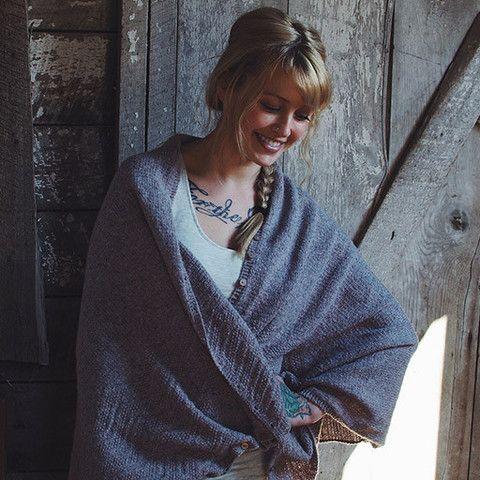 Knitting Pattern For Yoga Wrap : Yoga Shawl Kit Beautiful, Stitches and A beautiful