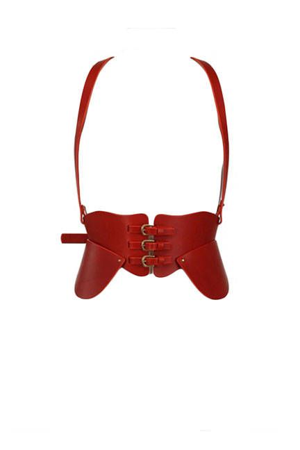 Fleet Ilya Crop Top Harness, $1,105; luisaviaroma.com - ELLE.com