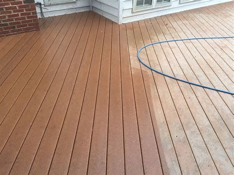 Compound Decking Is An Eco Friendly Lumber Alternative That Integrates Plastic And Also Timber Fiber Composite Decking Pressure Washing Companies Wood Bridge