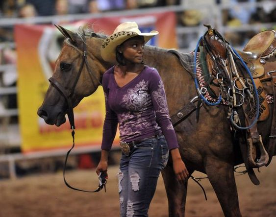 african american cowgirls | Cowboys, cowgirls compete in Bill Pickett Rodeo