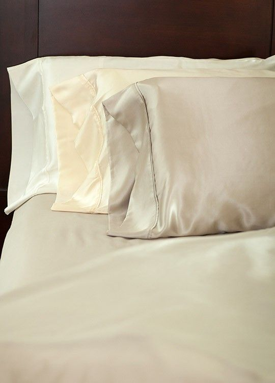 Silk Charmeuse Pillowcases