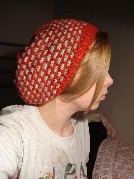 Mermaid Slouchy Tam (with pattern!!) - KNITTING Free ...