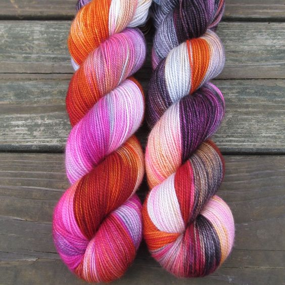 Deep Sea Jellyfish - Yummy 2-Ply - Babette | Miss Babs Hand-Dyed Yarns & Fibers, Inc.