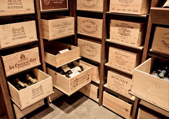 Ranger vos caisses de vins avec modulorack cave vin - Dimension caisse de vin ...