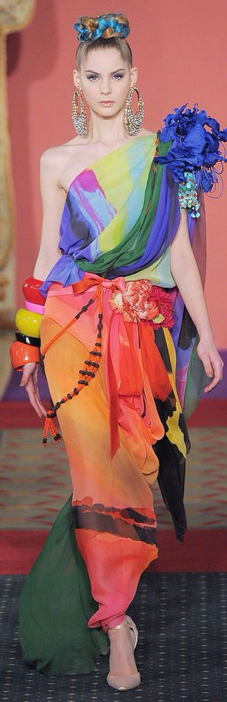 Christian Lacroix Spring 2009 Couture