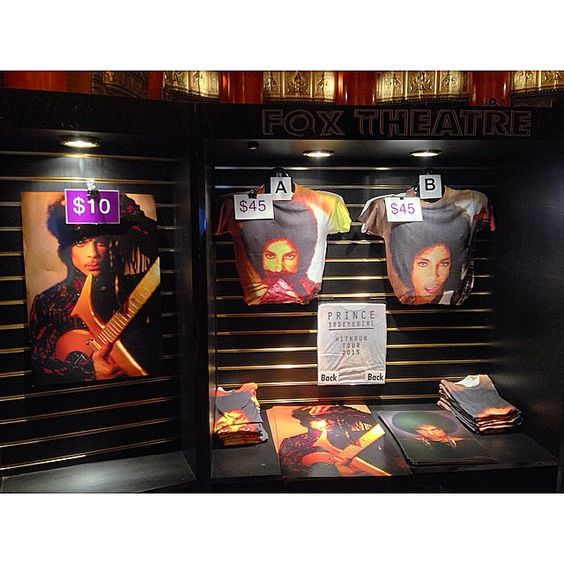 Selling merch for someone called Prince tonight. Never heard of him think anyone will show up? https://www.youtube.com/watch?v=K66cK03W1m0