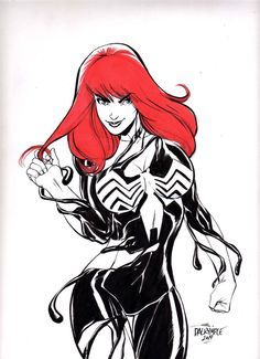 Mary jane she-venom symbiote transformation | Sexy ...