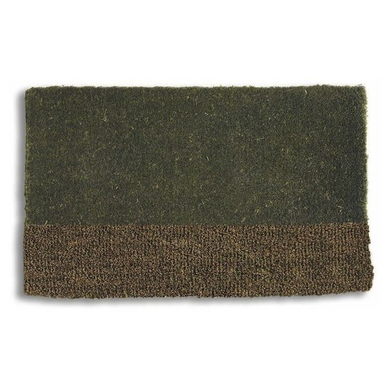 Tag Two-Tone Coir Doormat | from hayneedle.com