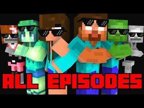 Monster School All Episodes Season 1 4 Full Minecraft Animation Youtube Monster School All Episodes Lego Hogwarts