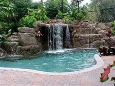 beautiful swimming pool designs - Bing images