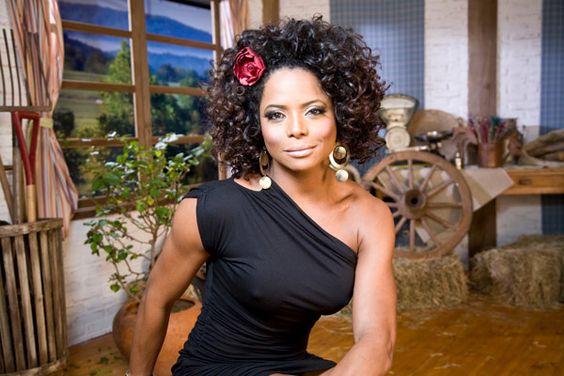Adriana Bombom Negra Mais Bonita do Brasil