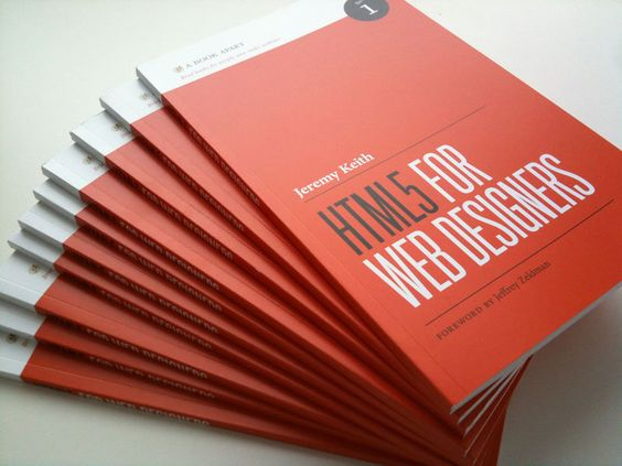 """""""HTML5 For Web Designers"""" by Jeremy Keith #book #reading #webdesign #html5 #abookapart"""