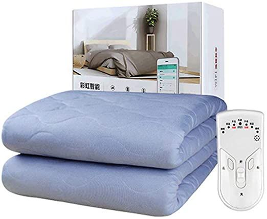 Queen Size Electric Blanket Heated Cozy Micro Plush Remote 20