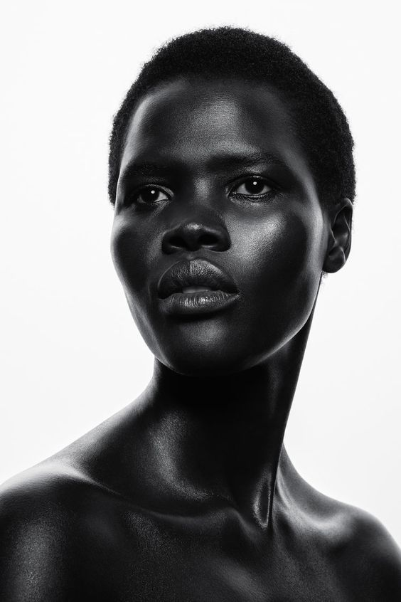 The Truth About Melanin Skin Colour Interesting History Facts Dark Beauty Beautiful Dark Skin Model Face