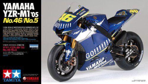 Tamiya 14116 Yamaha YZR M1 '05 No 46 No 5 1 12 Scale Kit | eBay