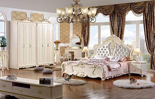 Luxury Double Bed Frame Solid Wood Handmade Design 180x220cm Model Golden New Door To Door Delivery Bed Double Bed Frame Bed Frame