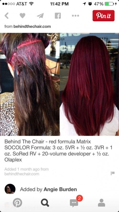 17+ Mahogany hair color formula ideas in 2021