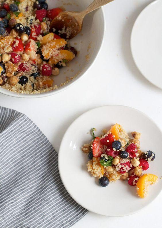 10 recetas con un secreto muy sano, la quinoa