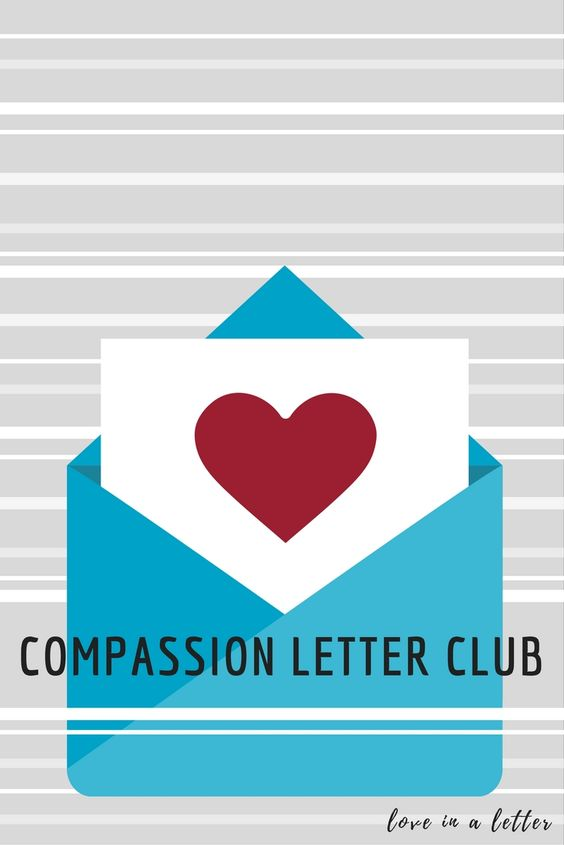 Welcome to the newly named Compassion Letter Club! No longer constrained to the second Friday of every month, we, and you, can now share and pin your brilliant ideas all month long. This is a place for you to be inspired and share your love of writing to the child or young adult you're sponsoring. Will you continue to write and share your creativity with us? #compassionletter: