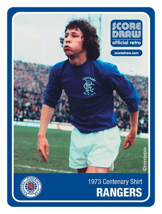 Rangers 1973 shirt