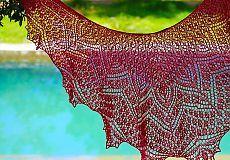 Bougainvillea Zile Lace Salul model de Anna Victoria