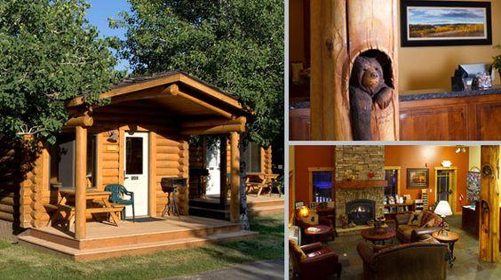 Jackson hole cabin rentals cowboy village resort town for Jackson wyoming cabin rentals
