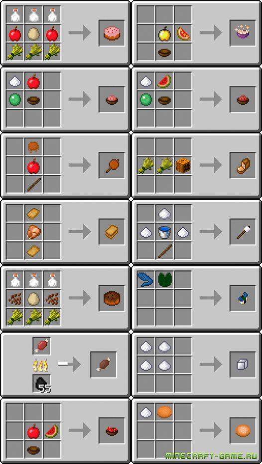 minecraft useful food | UsefulFood Mod для Minecraft 1.6.2