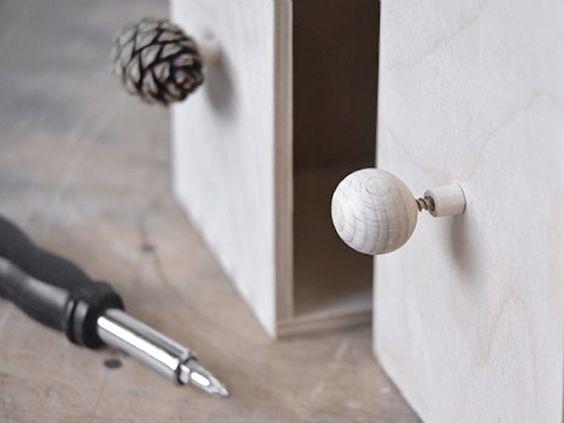 Tutoriel DIY: Fabriquer des poignées de meuble avec des matériaux naturels via DaWanda.com
