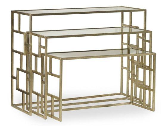 Hooker Furniture Metal Nest of Tables 500-50-939