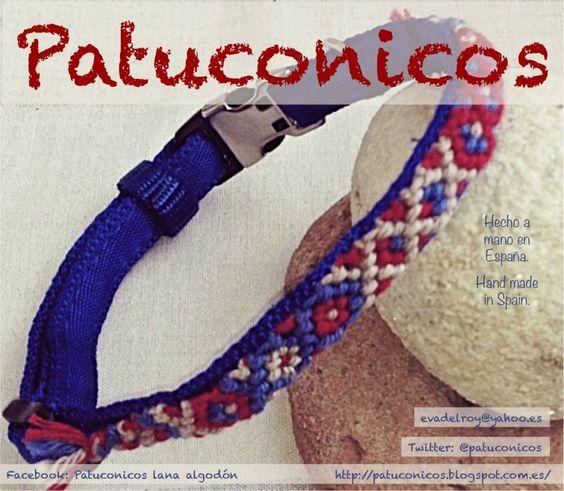 Collar perro pequeño Patuconico