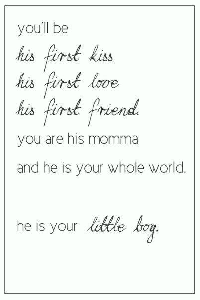 Love my little man!