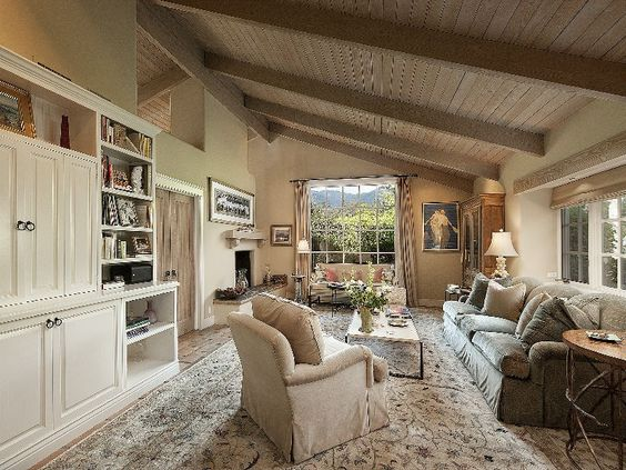Elegant French Country Style Santa Barbara Style