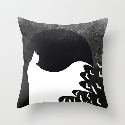 Knight Rising Inverted Throw Pillow by UvinArt | Society6