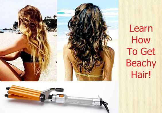 Triple Barrel Curling Iron and Get that Beachy Look!You don't have to be anywhere near the ocean to have sexy, tousled waves. To get that perfect beach hair for spring break getaways, you need only...