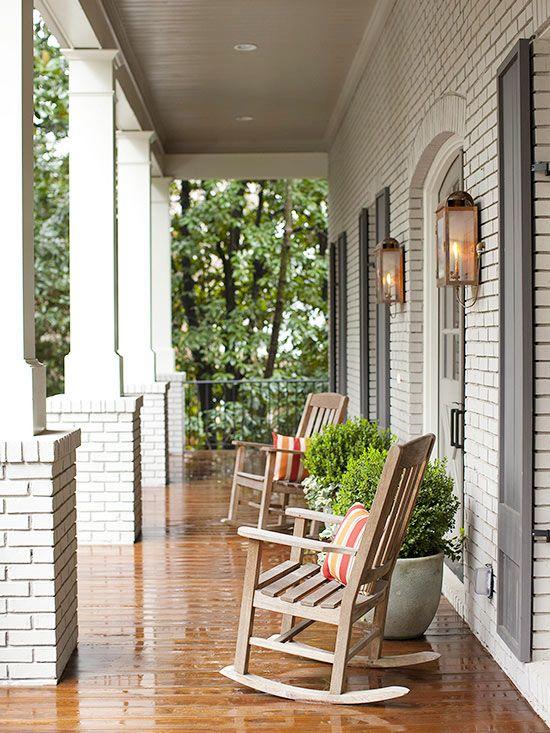 Top Cozy Porch