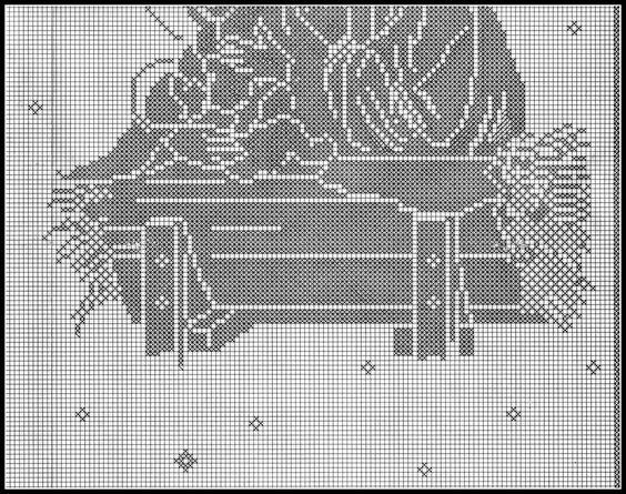 lo spazio di lilla: A gentile richiesta...: uva a filet per la tovaglia d'altare ed immagini sacre