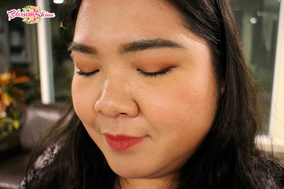 Natural Day Look with Maybelline Burgundy Bar Palette