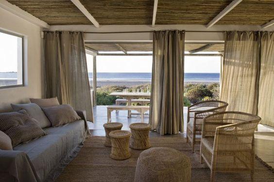 #salon #osier Un salon moderne ouvert sur l\'océan