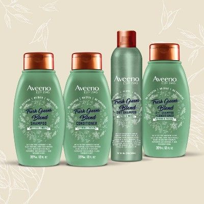 Aveeno Scalp Soothing Fresh Greens Blend Conditioner 12 Fl Oz Shampoo For Dry Scalp Dry Scalp Shampoo Best Oily Hair Shampoo