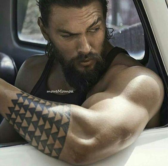 Sobrancelhas, Jason Momoa And Tatuagem Muscular On Pinterest
