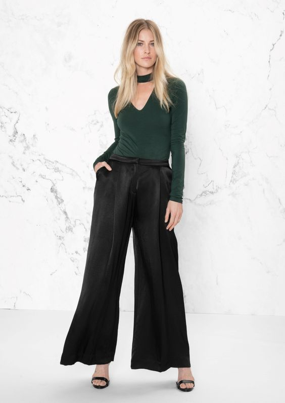 & Other Stories image 2 of Wide-Leg Trouser in Black