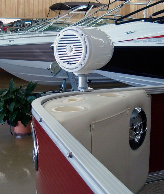 Flats accessories and pontoons on pinterest for Cool fishing boat accessories