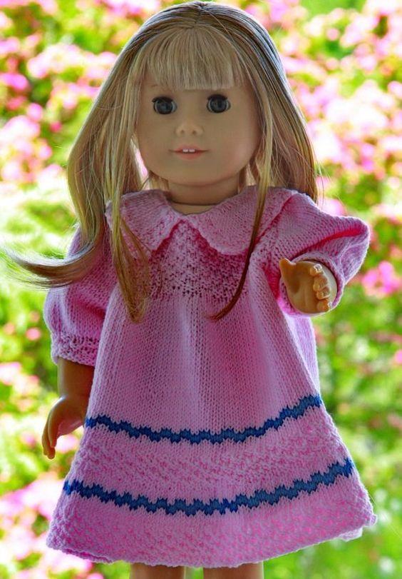 Eline ... kledd i nydelig, lette sommerklær strikket i egyptisk bomullsgarn Design: Målfrid Gausel