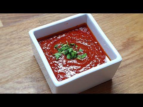 Salsa Roja Turca Para Kebap Casera Youtube Salsa Roja Kebab Casero Salsas Y Aderezos